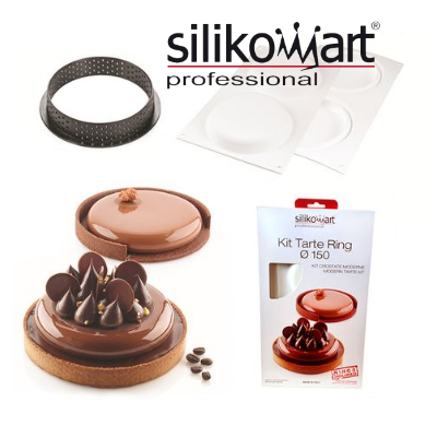 Silikomart kit tarte ring 150