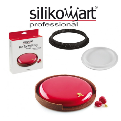 Silikomart kit tarte ring 190